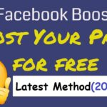How to boost your facebook page for free (Latest Method)