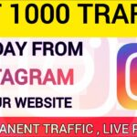 How to get Free Traffic from Instagram To Website | SEO | 1000 Traffic Per Day | Hindi