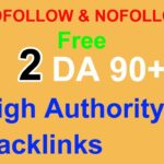 Instant High Authority DA 90+ Dofollow and Nofollow Backlinks