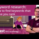 Keyword research: How to find keywords that help you rank | SEO for beginners