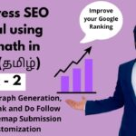Rankmath SEO Plugin in Tamil 2020 | Wordpress SEO Tutorial in Tamil | Wordpress On Page SEO in Tamil