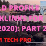 প্রোফাইল ব‍্যাকলিংক Part 20:Profile Backlinks Bangla Tutorial|Backlinks SEO Tutorial 2020#MAMTECHPRO