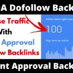 Build 80+ DA Instant Approval Dofollow Backlinks || How To Create Backlinks To Your Website || 2021