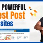 Build Backlinks With Guest Post| Off-Page SEO | Hacks To Find Guest Blogging Sites Fast