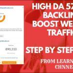 Create Free High DA 57 .Edu Backlinks |  Boost Website Traffic  | .Edu Backlinks 2020