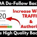 Create High Quality Dofollow Backlinks || 50+ DA Websites || High DA PA Dofollow Backlink || Profile