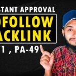 Do Follow Backlink Instant Approval | How To Get Traffic To Your Website |  Dofollow Backlinks 2020