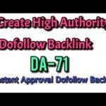 Free HA Dofollow Backlink (DA-71) Instant Approval
