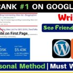 How To Write Seo Friendly Article On WordPress/blogger Step By Step Guide {Hindi}