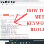 How to Add Meta Title, Description, Keywords In Blogger | Increase Ranking of Your Site |