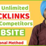 How to Find Competitor's Backlinks | Get Free Unlimited High DA PA Links For Your Website or Blog