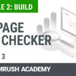 How to Increase Your Rankings With the On Page SEO Checker   Lesson 9/14   SEMrush Academy