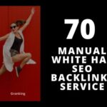 I will create manual white hat SEO backlinks service