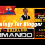 IFTTT Backlink Commando SEO Strategy Using FEED Blogger Demo