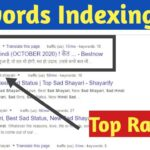 Index New Keyword On Google with Top Google Ranking