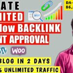 Instant Approval Dofollow Backlinks|Rank Post/Website Using Dofollow Backlinks 2020 | Make Backlinks