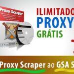 Integrar Proxy Scraper ao GSA SER - Ilimitados Proxys Grátis