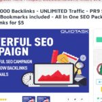 Powerful 10,000 Backlinks UNLIMITED Traffic Social Signals All In One SEO Pack On SEOClerks