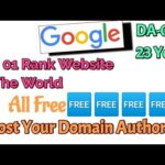Real Google Dofollow Backlink For Free