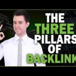 The Three Pillars of Backlinks [Link Building Essentials]