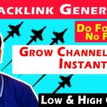 What is Backlink ? | YouTube Backlink Generator ? | Grow YouTube Channel Faster ? How Do They Work ?