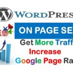 WordPress Site ON PAGE SEO || Get More Traffic || Increase Google Page Rank