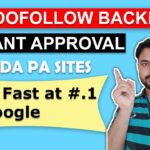 1240 Instant Approval DoFollow Backlinks | High Authority Dofollow Backlinks | High DA PA Sites