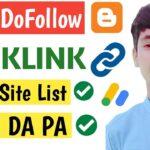 50+ High Quality dofollow backlinks 2020 | Dofollow backlinks | Free backlinks  | backlink sites