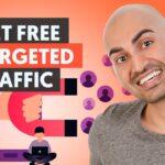 7 Advanced Ways to Get Free Traffic That Converts | Neil Patel