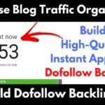 Build 90+ DA Instant Approval Dofollow Backlinks | How To Create Backlinks To Your Website | SEO