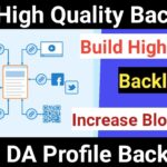 Build DoFollow Backlinks From 90+ DA Websites || How To Create Backlinks To Your Website