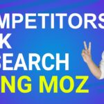 Competitor Backlink Research | Use Moz Link Intersect tool for backlink Research| (in Hindi)