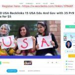Create 50 USA Backlinks 15 USA Edu And Gov with 35 Pr9 Backlinks for $5 On SEOCl