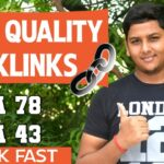Create High Quality Dofollow Backlinks on Authority Website And Rank Fast in Google ! Blogging Guide