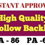 Create High quality DoFollow Backlink With Instant Approval for your website | High DA PA Dofollow