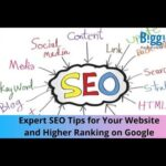 Expert SEO Tips for Your Website and Higher Ranking on Google | BiggieTips.com