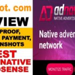Google AdSense alternative for blogger | adnow ad network, CPC payment proof, minimum traffic