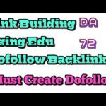 HA Edu Dofollow Backlink (DA-72) For Link Building Process