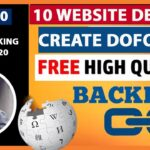 How to get High quality dofollow backlinks from different website in hindi