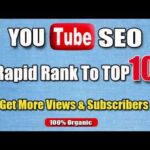 I will do youtube seo for rapid ranking to boost views