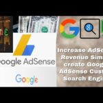 Increase AdSense Revenue of Google AdSense on your Site | how to create google custom search engine