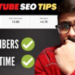Live Proof🔴 7 YouTube SEO Tips to Increase Subscribers on YouTube Channel | Grow YouTube Channel