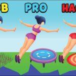 NOOB vs PRO vs HACKER - Flip Jump Stack
