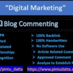 OffPage SEO Stategy-Approved Do Follow Blog Commenting Backlinks service with Blog Manager in fiverr