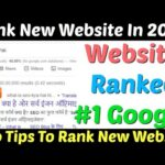 Rank New Website in Google First Page 2020 | Rank Website | Rank Website On Google | Rank  New Blog