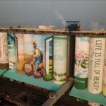 S. Korean grain silo transforms into world's largest mural