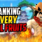 🌟 RANKING EVERY DEVIL FRUITS IN BLOX PIECE!