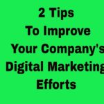 2 Tips to improve your Digital Marketing SEO From Your Social Media Agency London