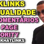 COMO COMPRAR BACKLINKS DE QUALIDADE COMENTÁRIOS ALTO PAGE AUTHORITY, SEO  [REPOSTADO]