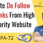 How To Create Do Follow Backlinks From High Authority Website